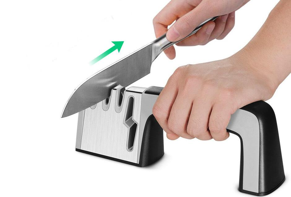 How to sharpen kitchen knives at home