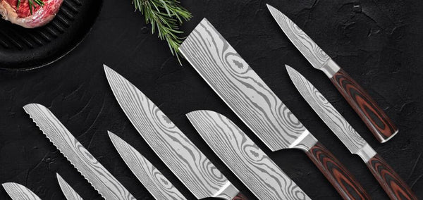 The 6 Common Stainless Steel Kitchen Knife Blade Material | Letcase