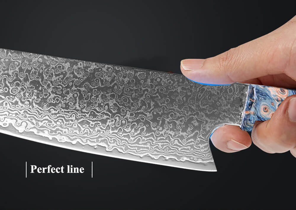 8 Inch 67 Layers Japanese Damascus Chef Knife