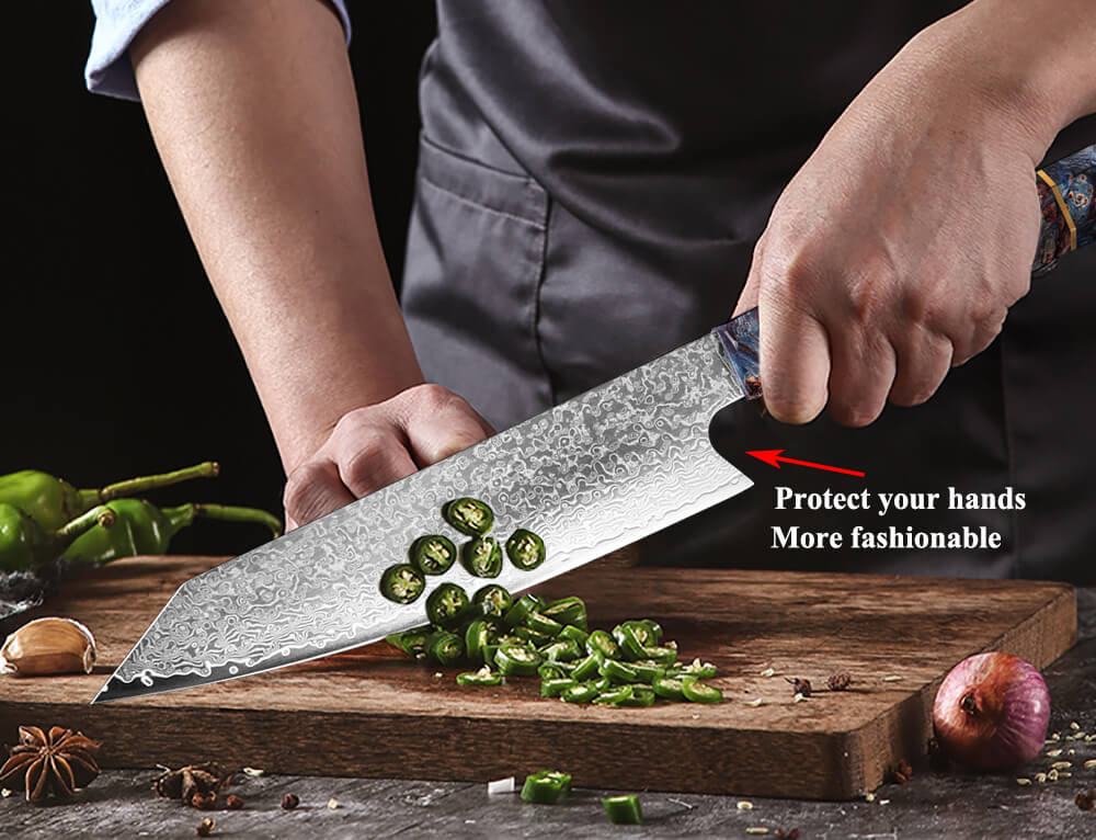 Pro 8 Inch 67 Layers Japanese Damascus Chef Knife