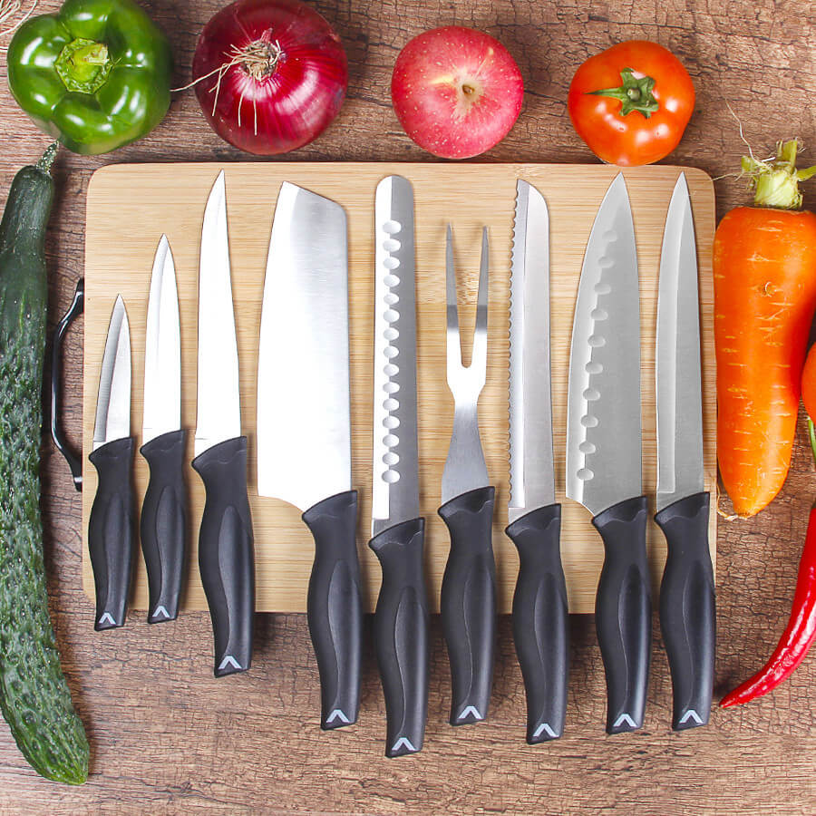 professional chef knife set with bag | Letcase Knives