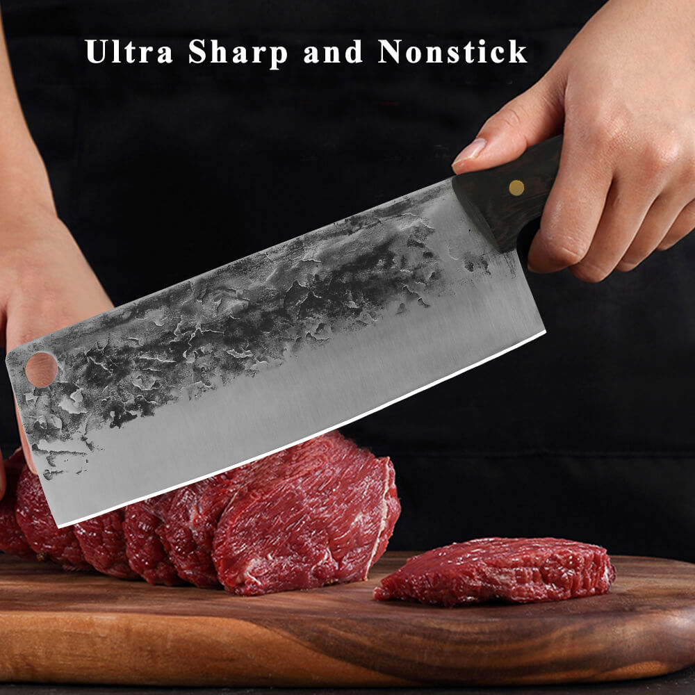 Hand Forged Cleaver Knives, Meat Cleaver