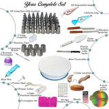 124 Pieces Cake Decorating Supplies Kit for Beginners - Letcase