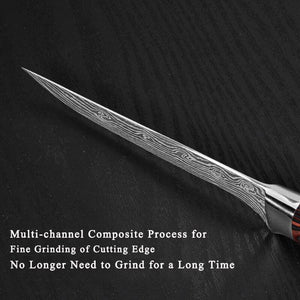 5.5 Inch Boning Knife Stainless Steel Filleting Knife - Letcase
