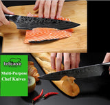 8-Inch Chef Knives High Carbon German Forged Steel - Letcase