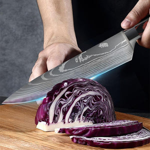 8 Inch Japanese Chef's Knife - Letcase
