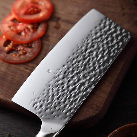 How was Letcase kitchen knives set? - MEAT CLEAVER