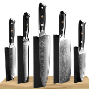 Damascus Steel Kitchen Chef Knife Set - Letcase Knives