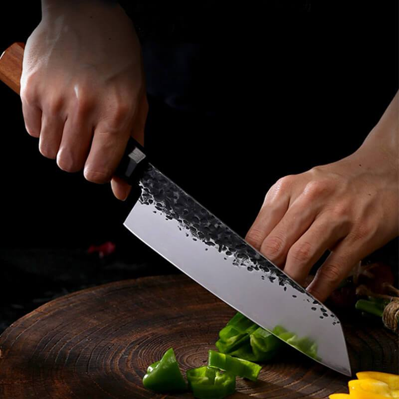 Forged High Carbon Steel Chef Knife Japanese Gyuto Knife - Letcase