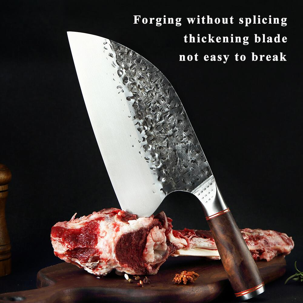 hand forged cleaver knife