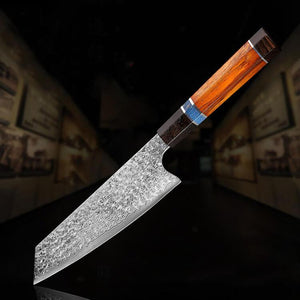 Handmade Damascus Kitchen Knife - Letcase
