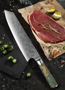 Letcase 8-inch Damascus VG10 Steel Kitchen Knives - Letcase