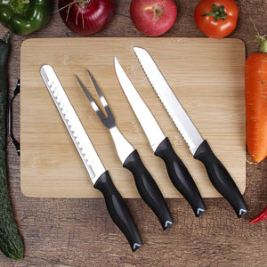 Professional 9 Piece Chef Knife Set With Carrying Case - Letcase