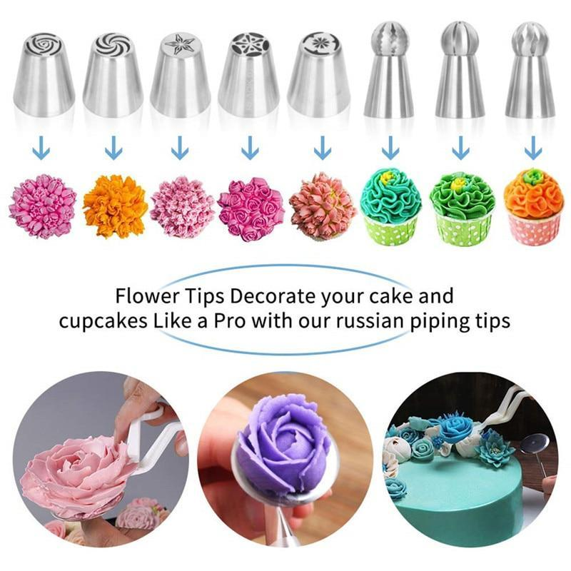 Professional Cake Decorating Kit Baking Tools For Cakes ...