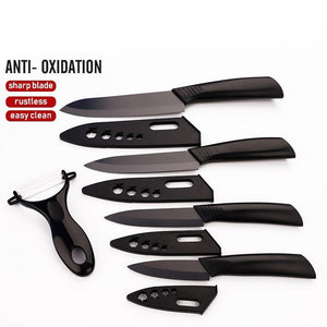Ultra Sharp Kitchen Ceramic Knife 5 Piece Set - Letcase