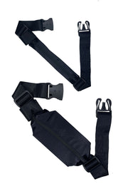 *ssBag I BLACK SATIN I Running Belt