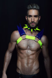 Blades | Spiked Harness | Blue