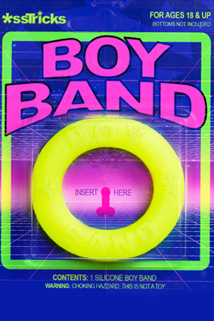 Boy Band I GLOW JOB  UV I Cock Ring