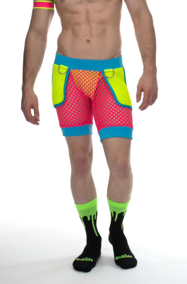 Techno Joggers with Pockets I NEON DREAM