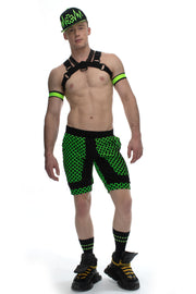 Fusion Shorts ELECTRIC GREEN