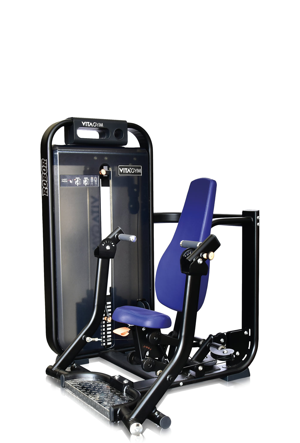 Seated Chest Press - Vitagym - V6 Line - Bankdrückmaschine