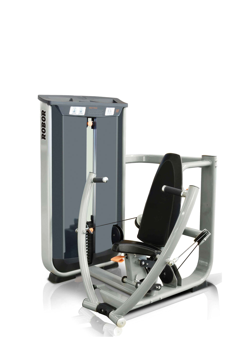 Seated Chest Press - Vitagym - V8 Line - Bankdrückmaschine