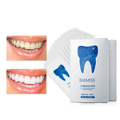 White Gel Teeth Whitening Strips
