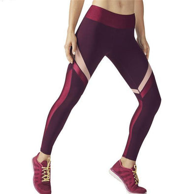 Stripe Print Workout Legging