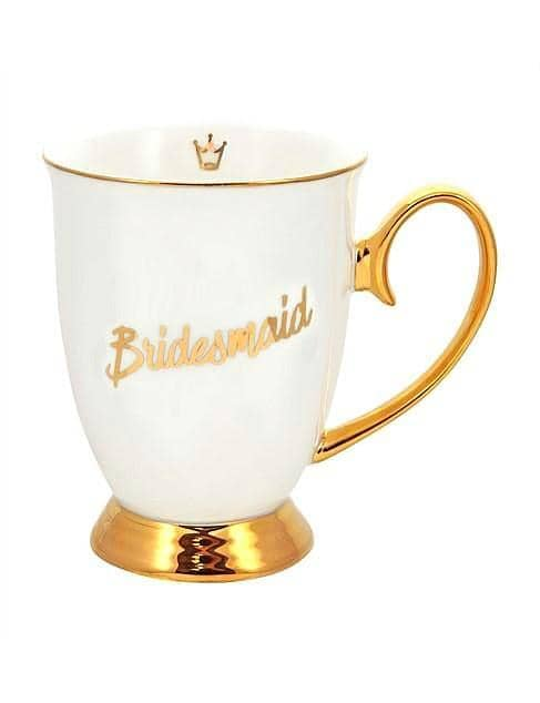Mug Bridesmaid Ivory - LUVBOX