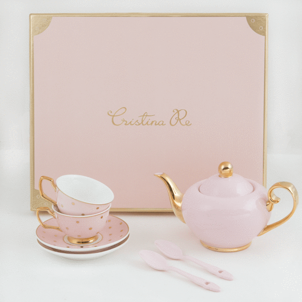 Petite Tea Set Blush - LUVBOX