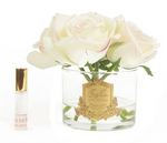 Cote Noire Perfumed Natural Touch 5 Roses Clear Pink Blush with Pink Box GMR88