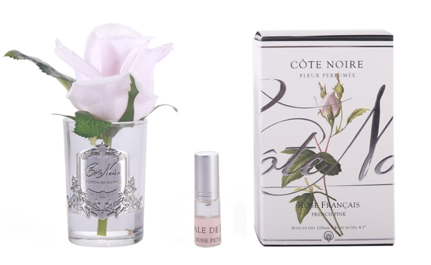 Cote Noire Perfumed Natural Touch Rose Bud Clear - French Pink GMR46