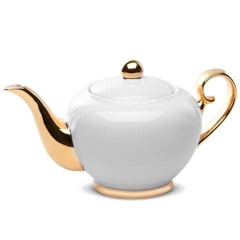 Teapot Ivory By Cristina Re