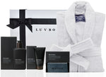 Mr Platinum Hamper for Him - White Robe