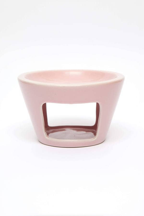 PINK CERAMIC OIL BURNER - LUVBOX