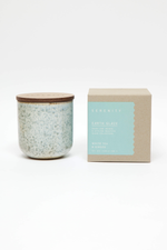 Earth Glaze - White Tea & Ginger Candle