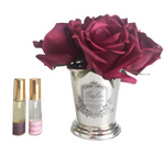Cote Noire - Seven Rose Bouquet in Carmine Red SMB04
