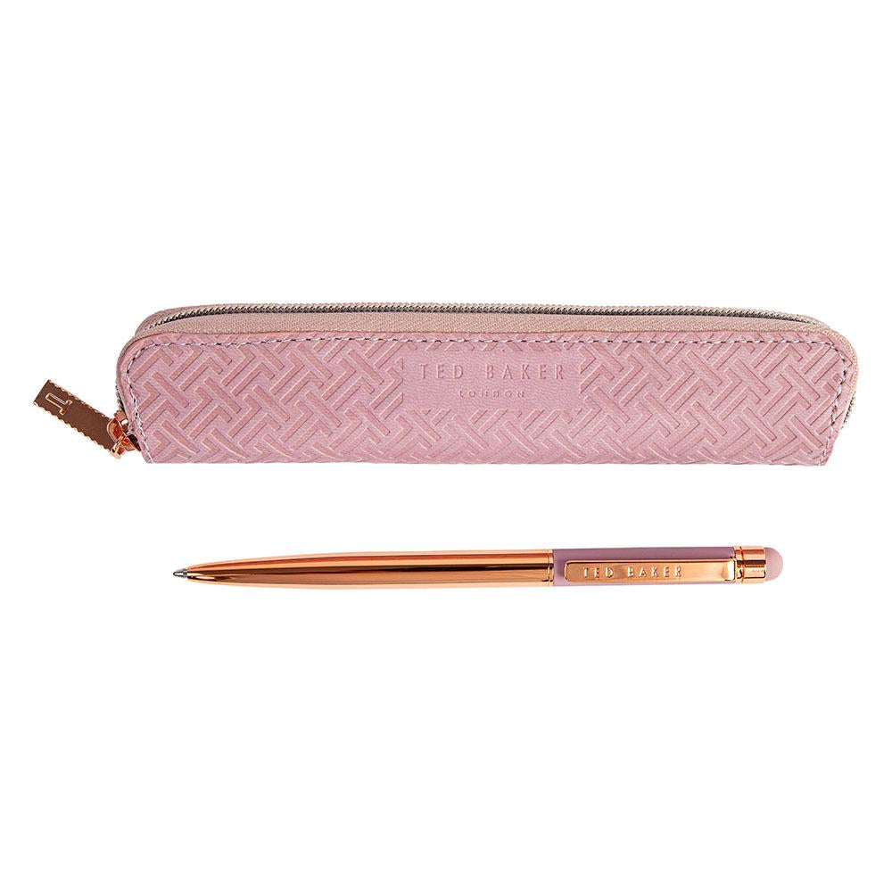 TED BAKER TOUCH SCREEN PEN - DUSTY PINK TED710