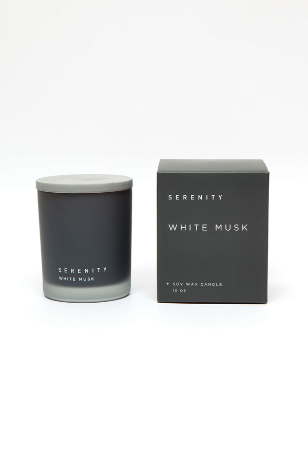 Signature White Musk Candle