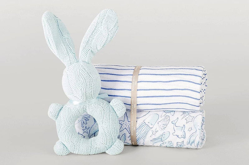 Finleigh Baby Gift Set Grey - LUVBOX