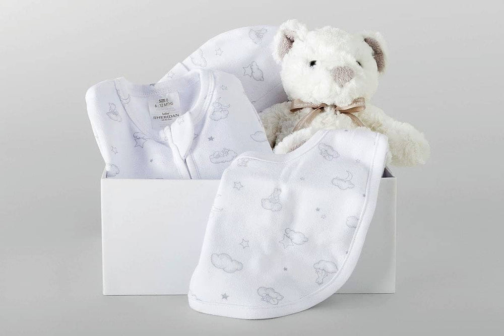 Hapton Baby Gift Set Grey