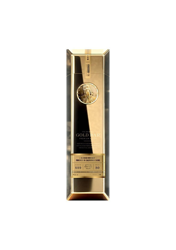 Gold bar whiskey - LUVBOX