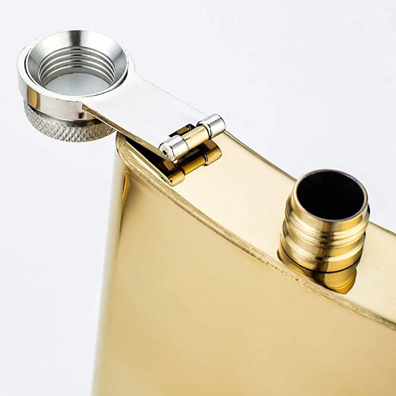 Vidori Gold Hip Flask - 240 ml