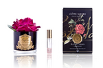 Côte Noire Perfumed Natural Touch Rose in Black - Carmine Red