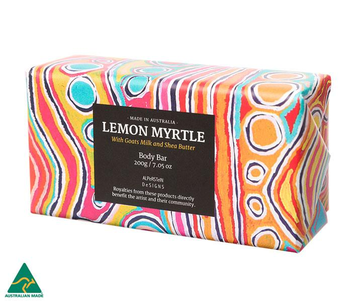 Lemon Myrtle Goats Milk & Shea Butter Body Bar 200g