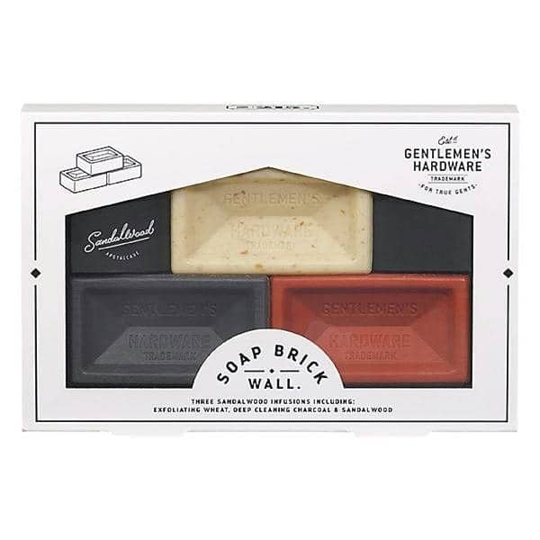 MINI BRICK SOAPS, SET OF 3 - LUVBOX