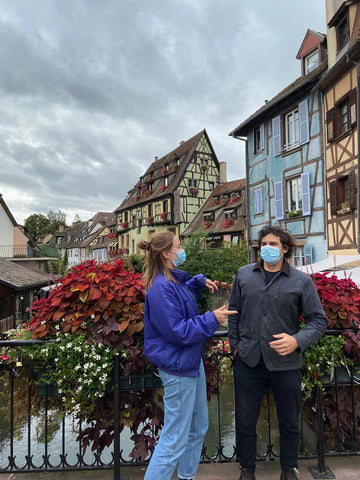 Odile and Ricky in Colmar