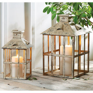 Rustic Lanterns - The Rustic Barn CT