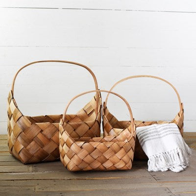 Savannah Basket Blonde - The Rustic Barn CT