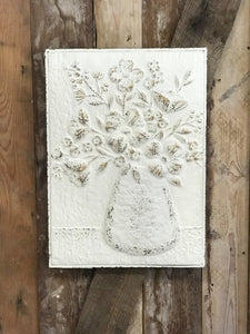 Embossed Metal Wall Decor